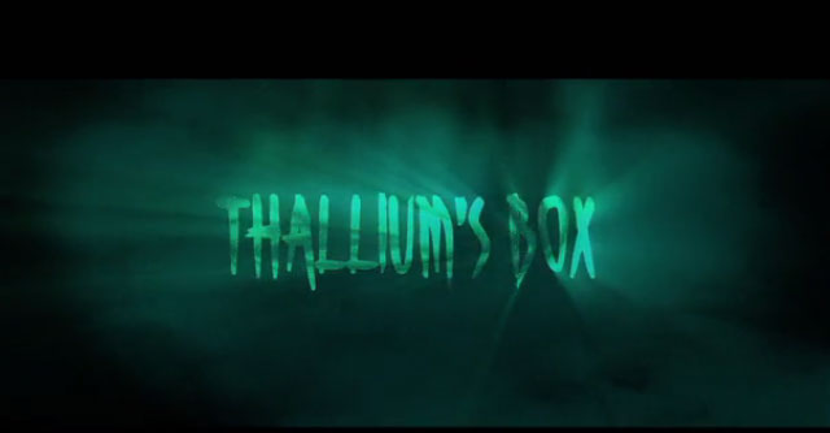 thalliums box - How You Can Help William Malone Open Thallium's Box