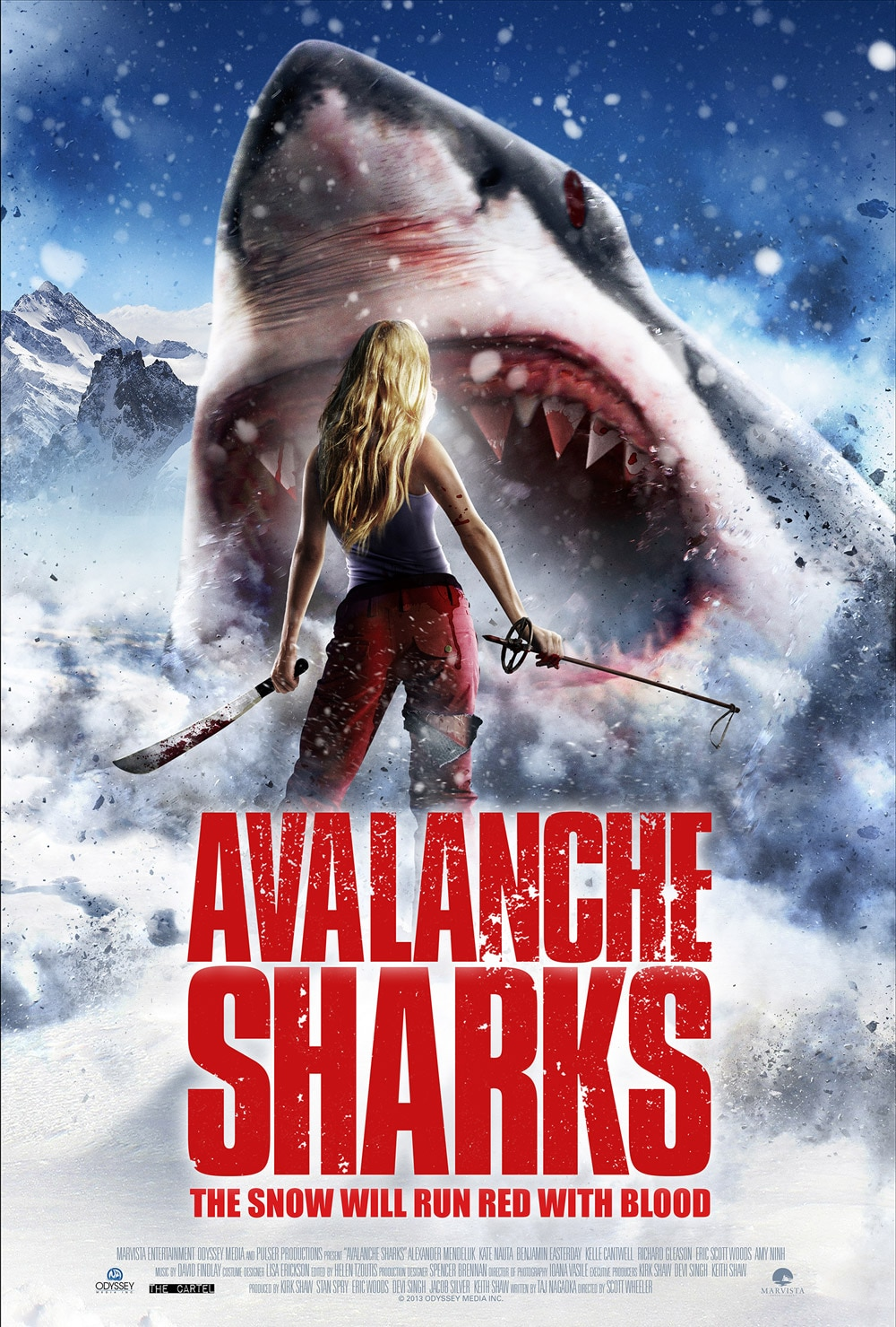 Avalanche Sharks - Exclusive Avalanche Shark Clip Curses You