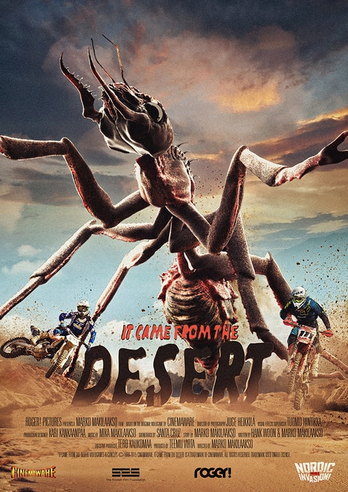 It Came from the Desert Poster - It Came from the Desert Brings Cinemaware's Classic 1989 Video Game to Life