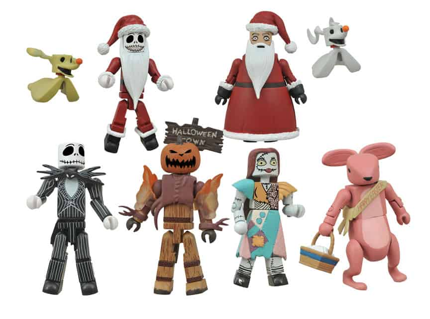 Nightmare Before Christmas Zombie.Sdcc15 Diamond Select Display Includes Deluxe Sized Aliens