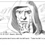 Scene 15 16 01 150x150 - Exclusive Look at Baphomet's Shark Attack Scene Storyboards