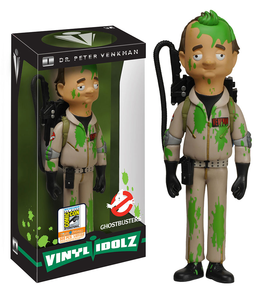 ghostbusters sdcc15 venkman - #SDCC15: Funko and Diamond Select Announce Ghostbusters Exclusives