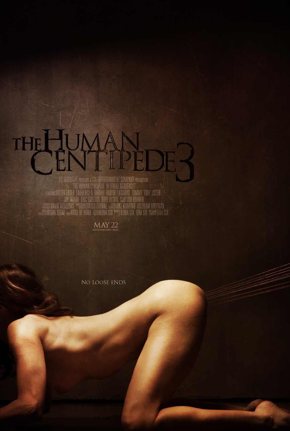 human centipede 3 poster 5 - NSFW - The Human Centipede 3: Final Sequence Gets 4 New Incredible Posters