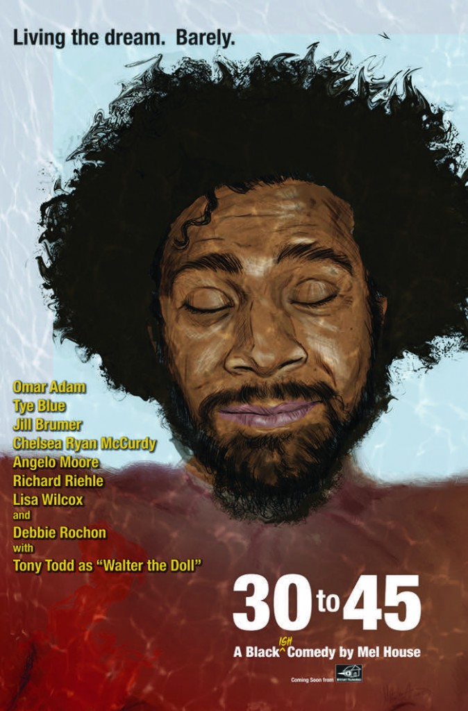 30 to 45 Poster Fotor 674x1024 - Dark Comedy 30 to 45 Adds Tony Todd and Launches Kickstarter Campaign