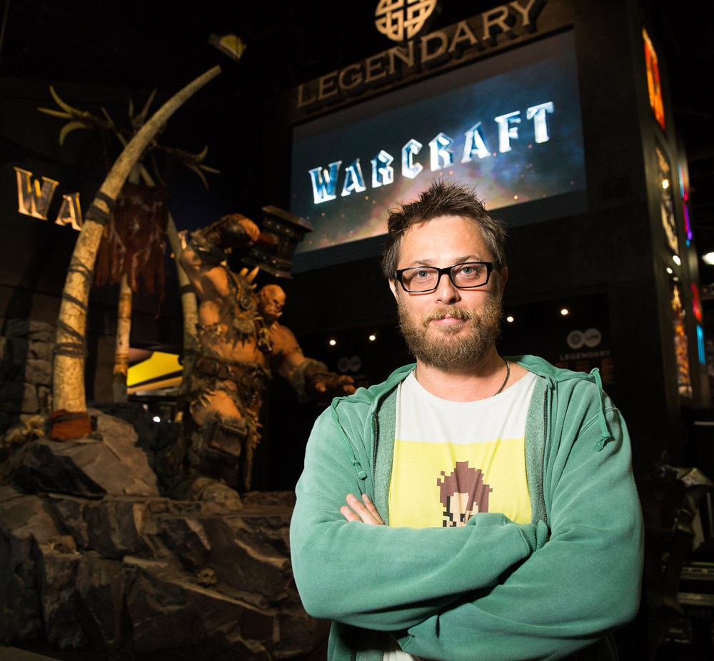 DUNCAN 1 - #SDCC15: Legendary's Warcraft Brings on the Goods