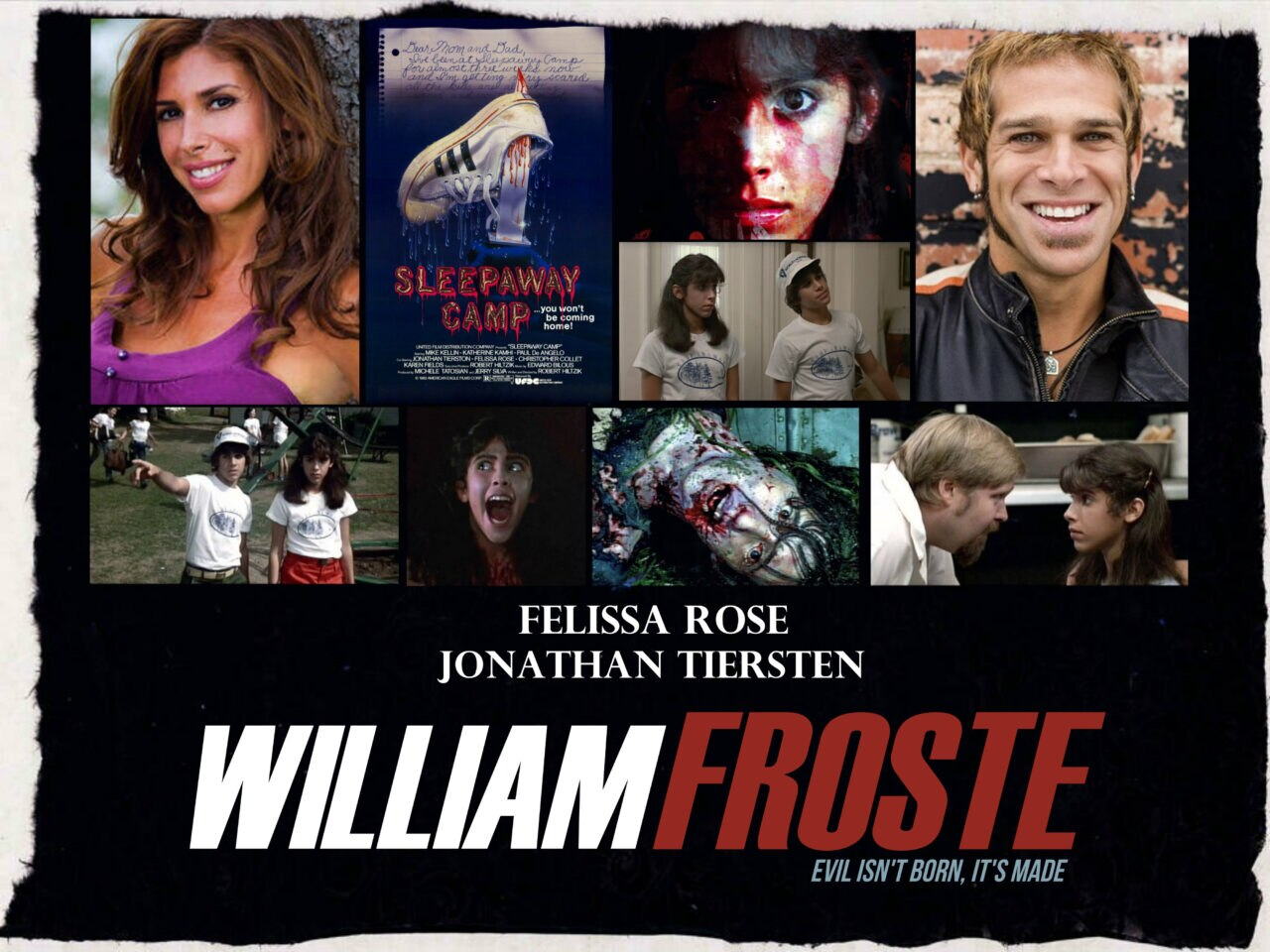 FELISSA ROSE JONATHAN TIERSTEN scaled - Sleepaway Camp Alumns Felissa Rose and Jonathan Tiersten Added to William Froste Cast