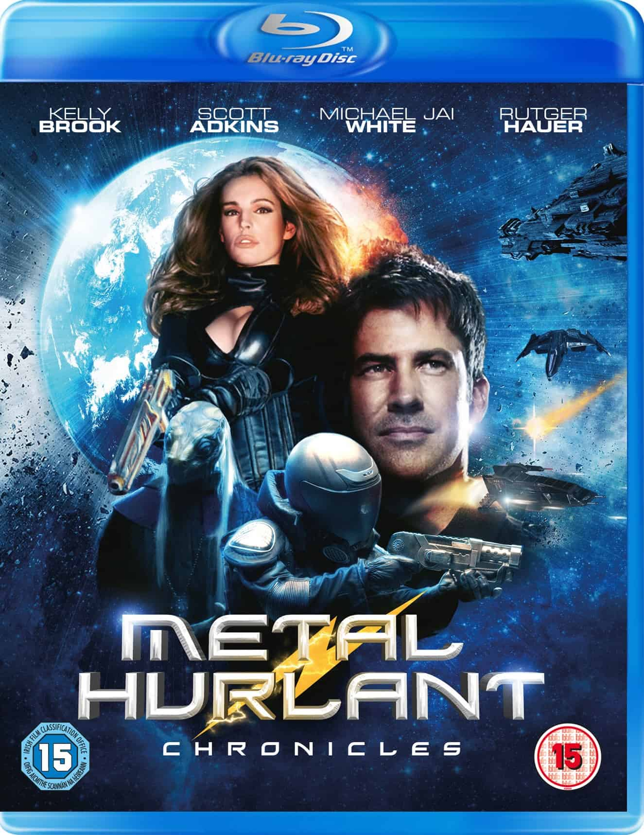 Metal Hurlant Chronicles UK Blu-ray Sleeve