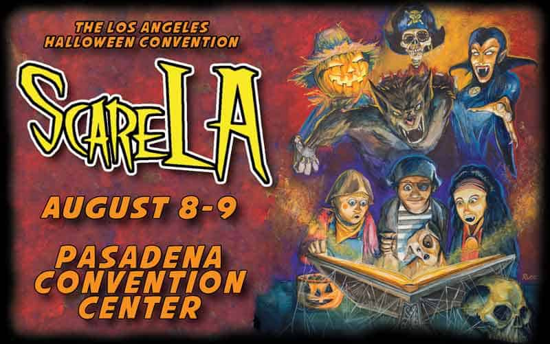 ScareLA Lineup Revealed - ScareLA Lineup Announced Including Treehouse of Horror and American Horror Story