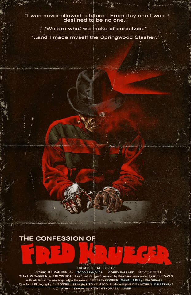 confess - Exclusive: Watch the Trailer for Upcoming Fan Film The Confession of Fred Krueger