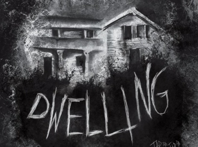 dwee - New Dwelling Poster Heads Down a Spooky Rabbit Hole