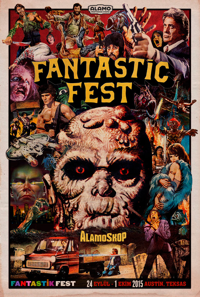 fantasticfest2015poster - Fantastic Fest 2015 Second Wave Announcement Includes The Mind's Eye, February, High Rise, and More!