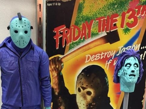 nesss - #SDCC15: NECA Upgrades NES Jason Voorhees Toy; Now With Mrs. Voorhees' Head