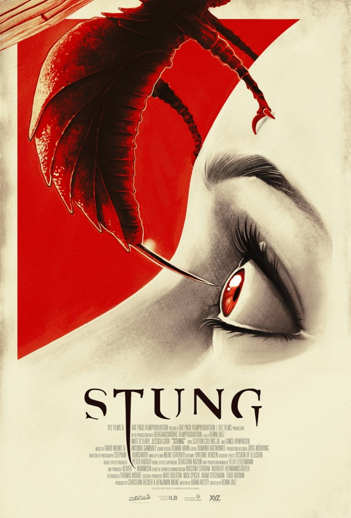 stungofficial 693x1024 - Exclusive: Lance Henriksen Talks Stung, His Evolution, and Legendary Characters