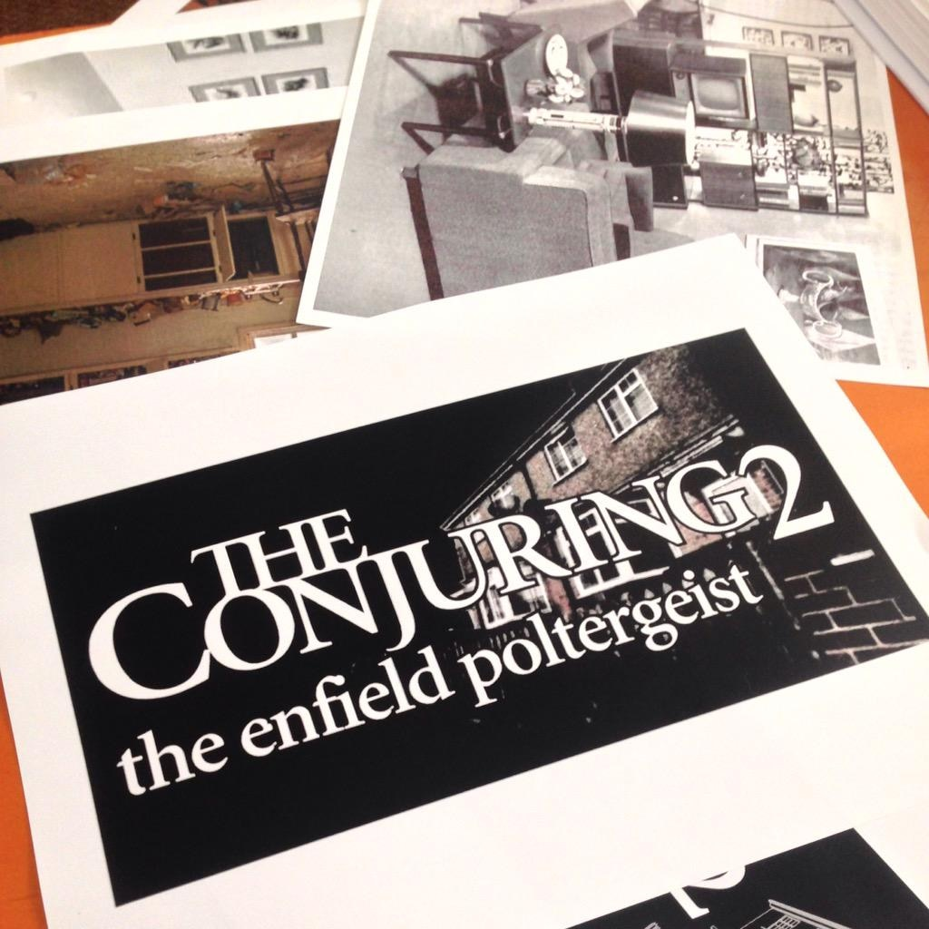 the conjuring 2 - James Wan Begins Pre-Production on The Conjuring 2: The Enfield Poltergeist