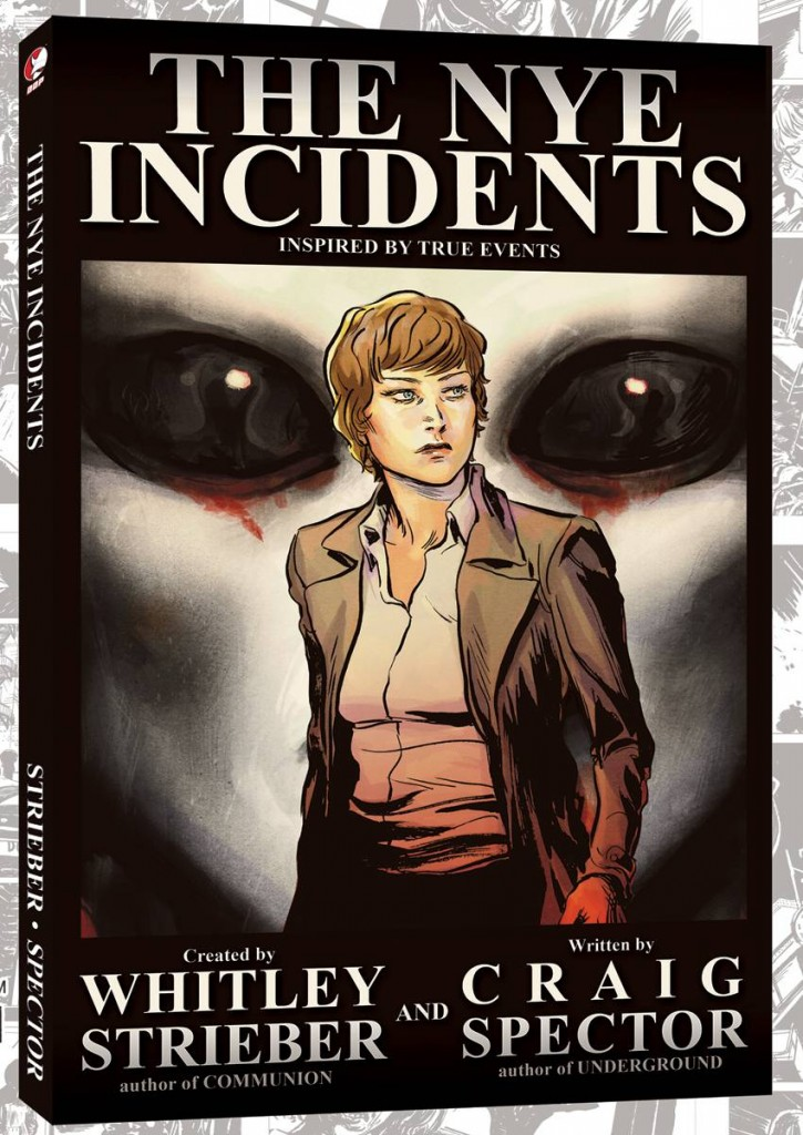 the nye incidents 725x1024 - Alien Invasion Comic The Nye Incidents Headed to the Small Screen