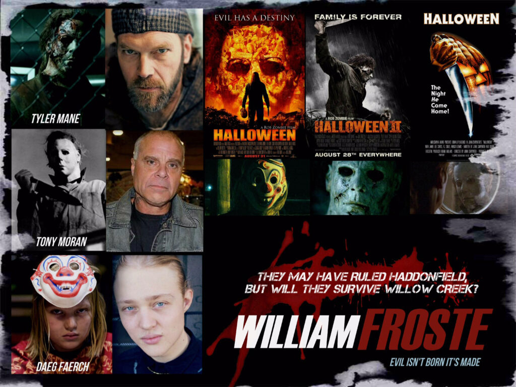 williamfroste3 Michael Meye 1024x769 - Tony Moran Joins William Froste Cast for a Trio of Michael Myers Vets