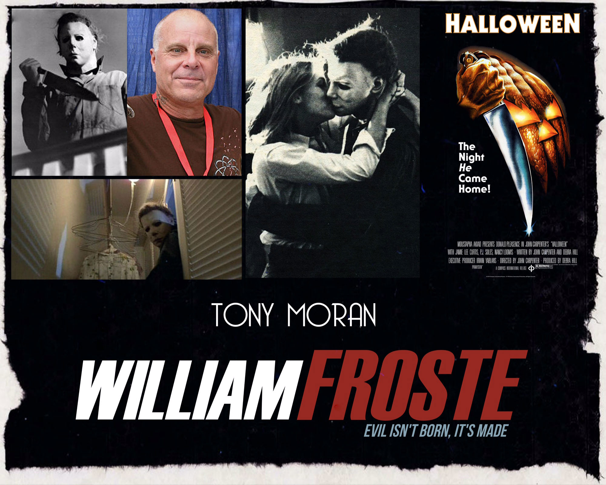 williamfrostemoranweb - Tony Moran Joins William Froste Cast for a Trio of Michael Myers Vets