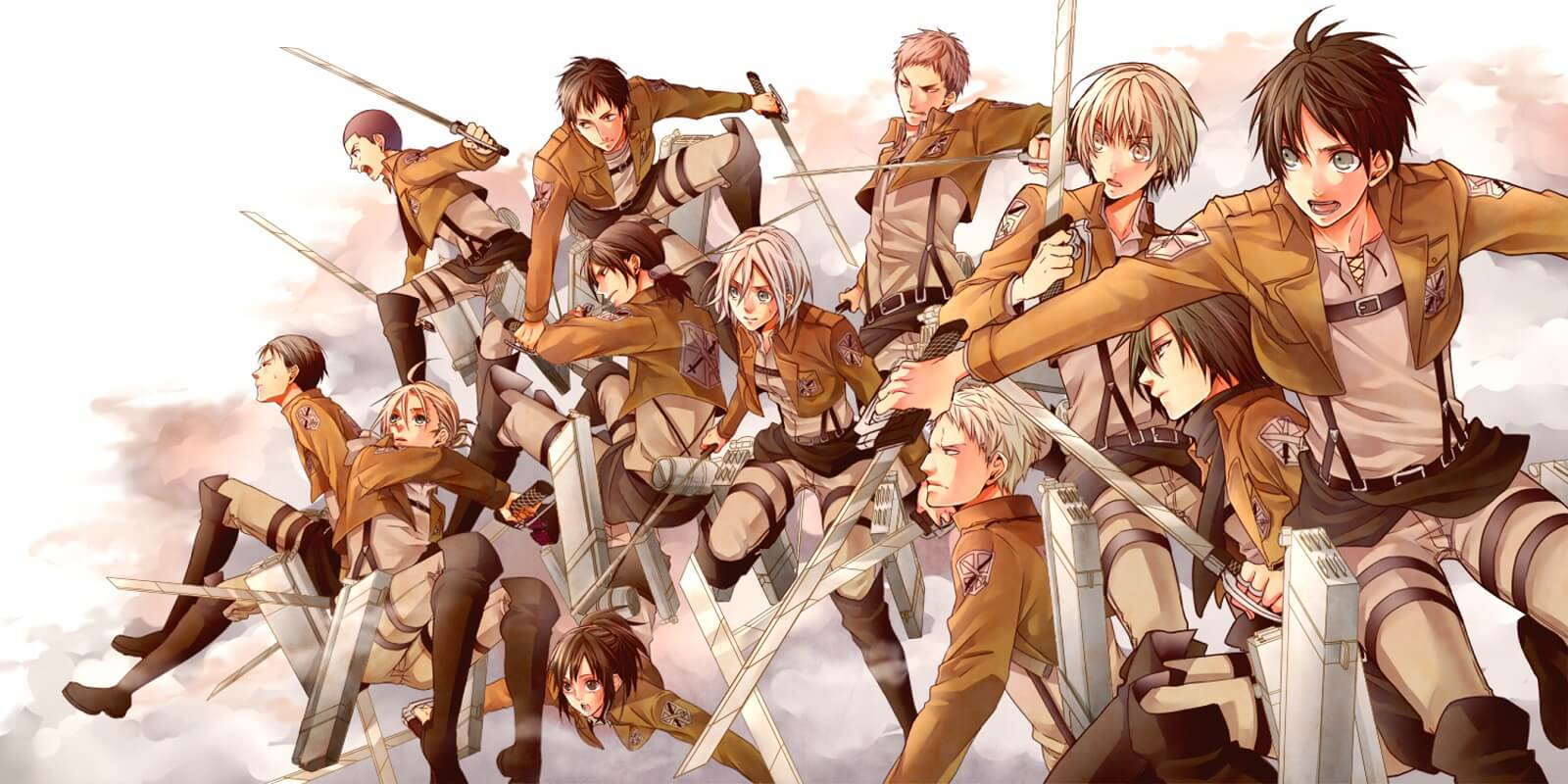 Attack on Titan soldiers 1 - Koei to Publish New Attack on Titan Game