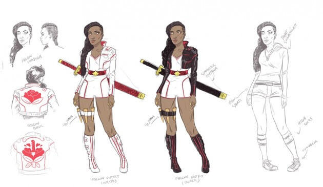 Blade daughter art 1 - New Blade Movie May Focus on His Daughter; Comic Delayed