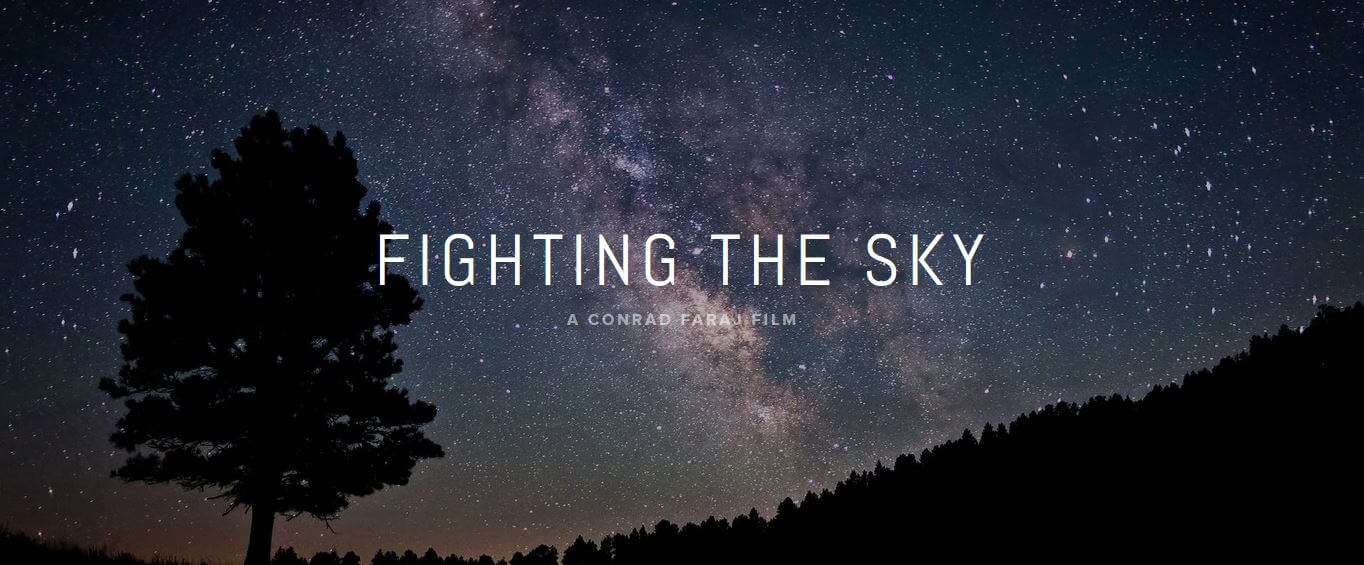 Fighting the Sky poster 1 - Interview: Conrad Faraj - Director of Fighting the Sky