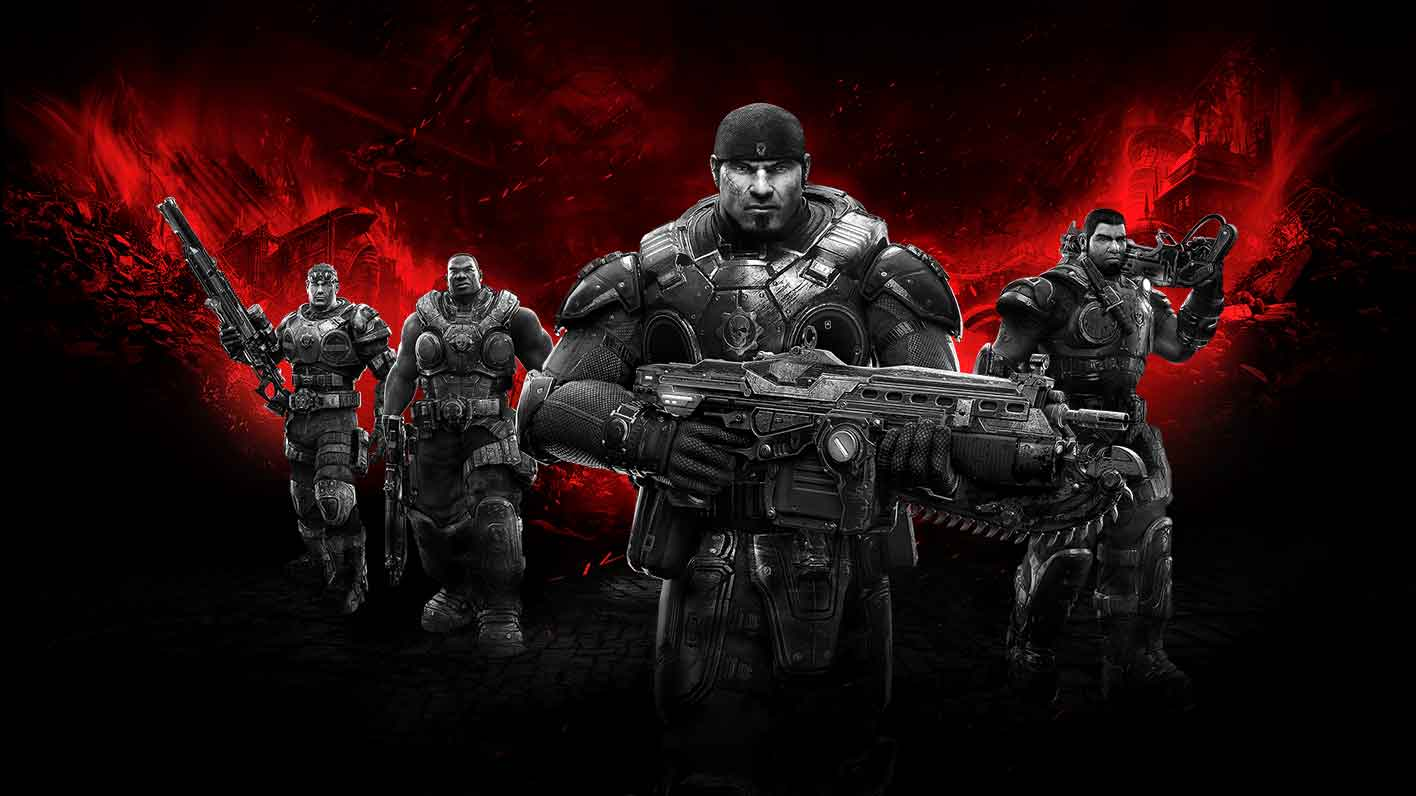 Gears of War Ultimate Edition poster 1 - New Gears of War: Ultimate Edition Trailer Online