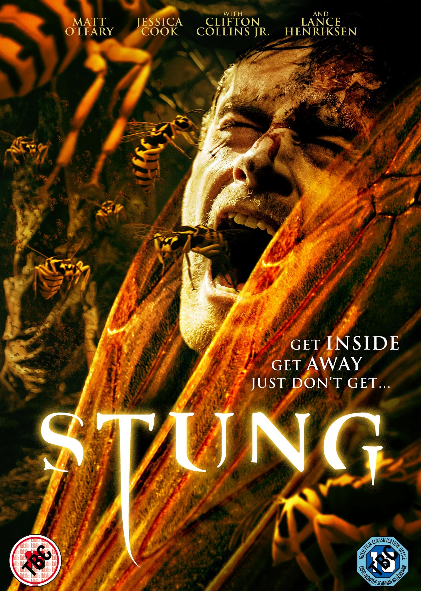 Stung UK DVD Artwork