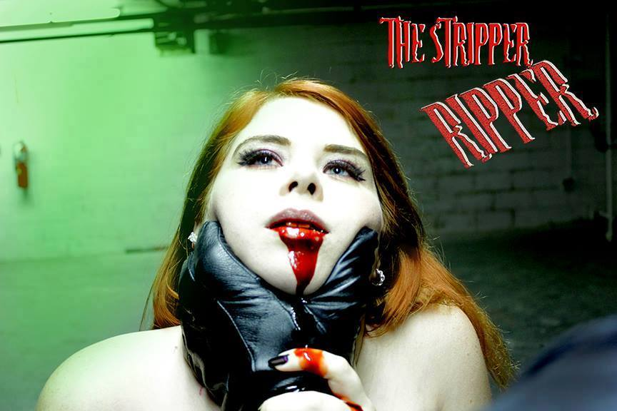 The Stripper Ripper by Evan Makrogiannis Brian Weaver - Grindsploitation Anthology Unearths Collection of Fake Trailers, Deleted Scenes, and Shorts