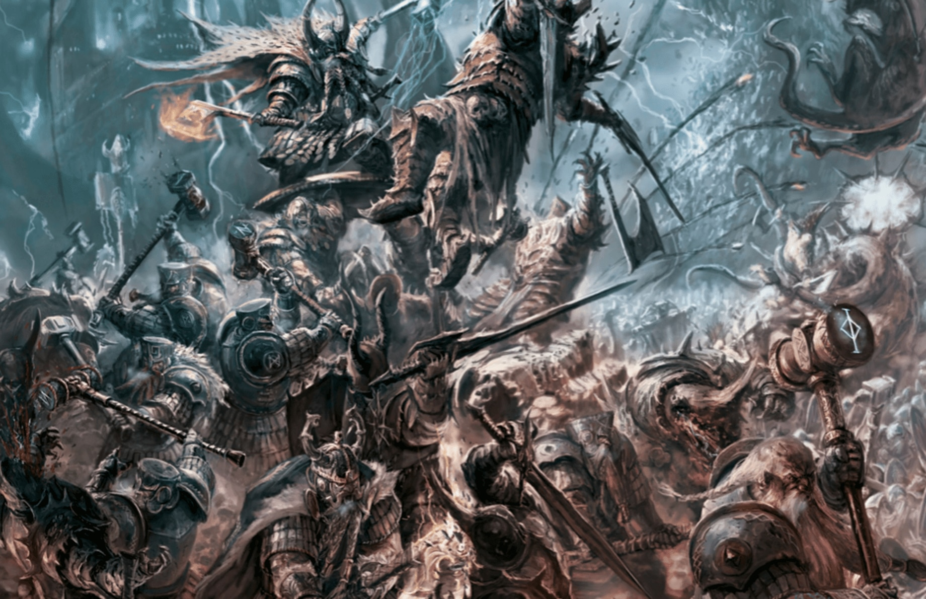 new total war warhammer video shows off the dwarves