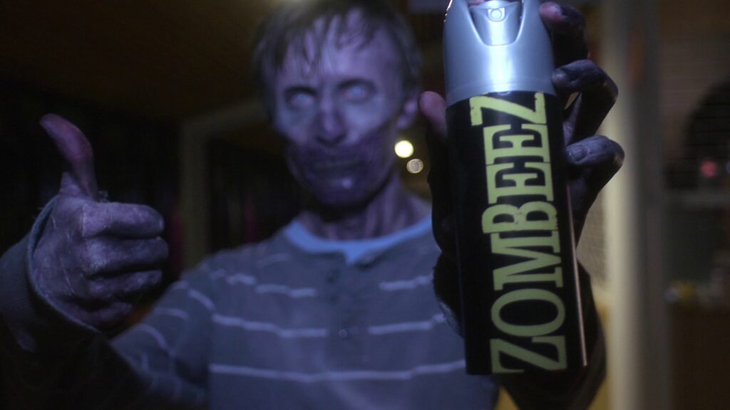 Zombeez by James Atkins  1024x576 - Grindsploitation Anthology Unearths Collection of Fake Trailers, Deleted Scenes, and Shorts