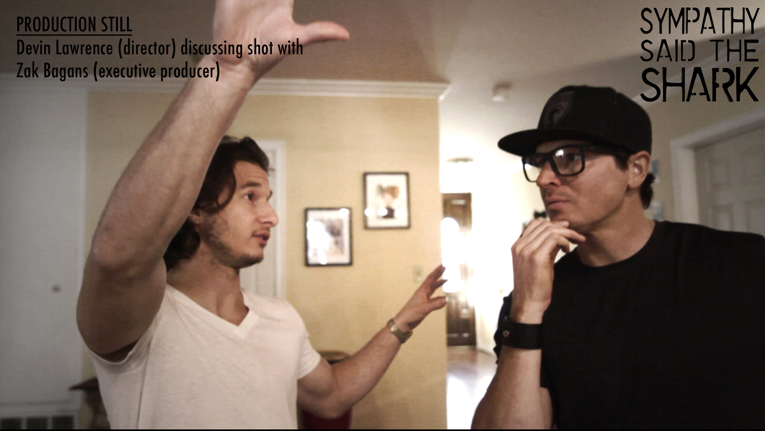 Devin Lawrence and Zak Bagans