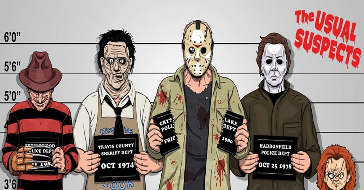 Freddy Vs Jason Vs Chucky Vs Michael Myers Vs Pinhead Tell Me Somethi...