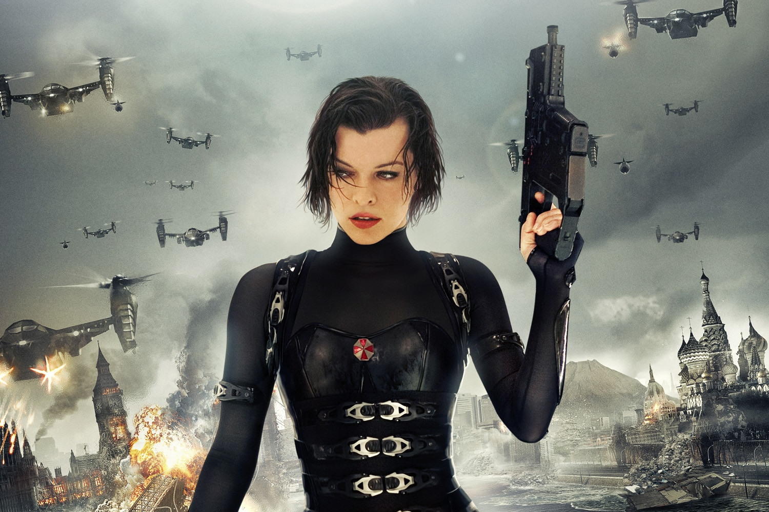 Resident Evil: The Final Chapter - See Milla Jovovich in Old