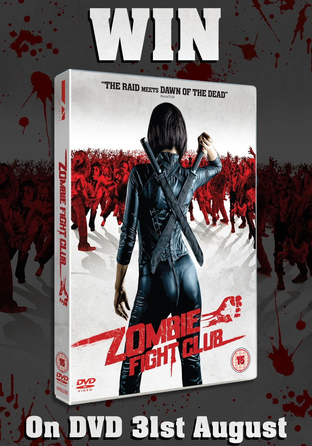 Zombie Fight Club UK DVD Competition