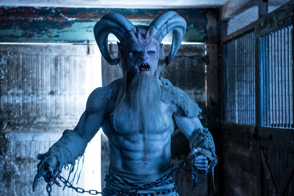A Christmas Horror Story's Rob Archer Gets an Awesome Krampus ...