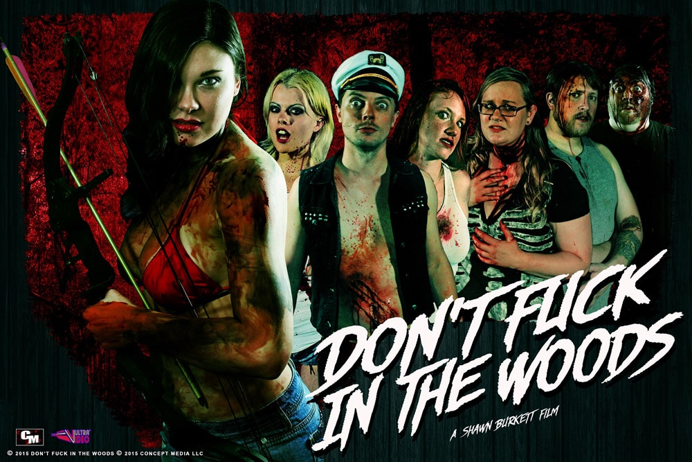Dont Fuck In The Woods Cast - Exclusive Creature Reveal... Don't F#@k in the Woods!