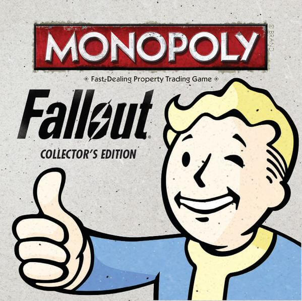 Fallout Monopoly 1 - Fallout Monopoly Board Game Announced