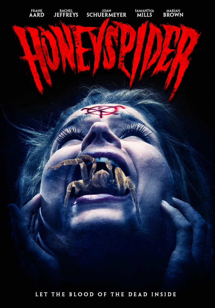 HONEYSPIDER OFFICIAL DVD ARTWORK - Honeyspider (2015)