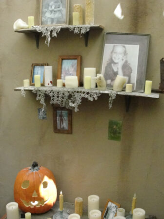 Halloween maze 3 336x448 - Dread Central Tours Halloween Horror Nights' Halloween: Michael Myers Comes Home and Insidious: Return to the Further Mazes! Exclusive Images!