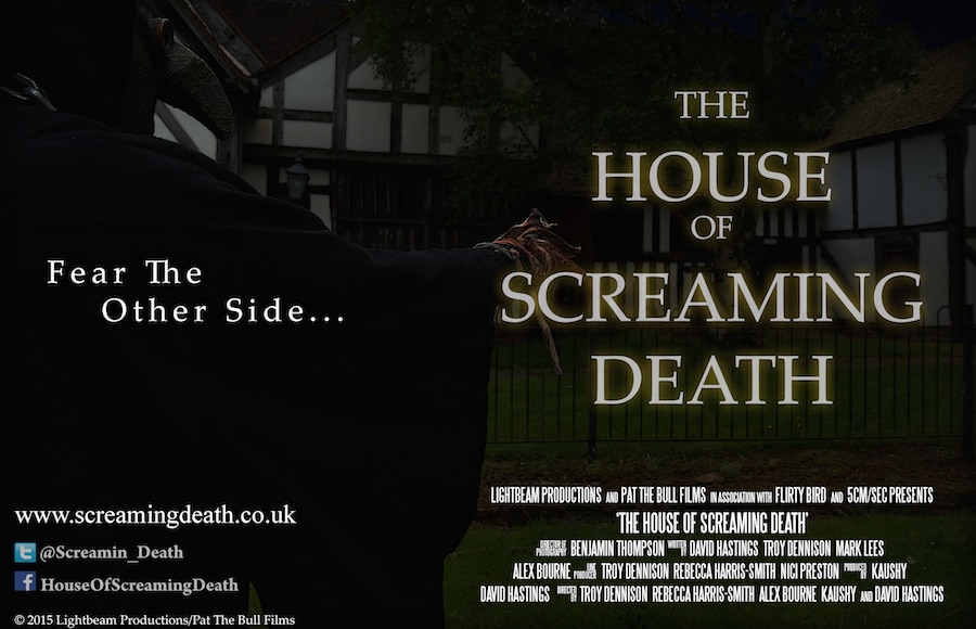 House of Screaming Death 1 - The House of Screaming Death Wraps First Phase of Production