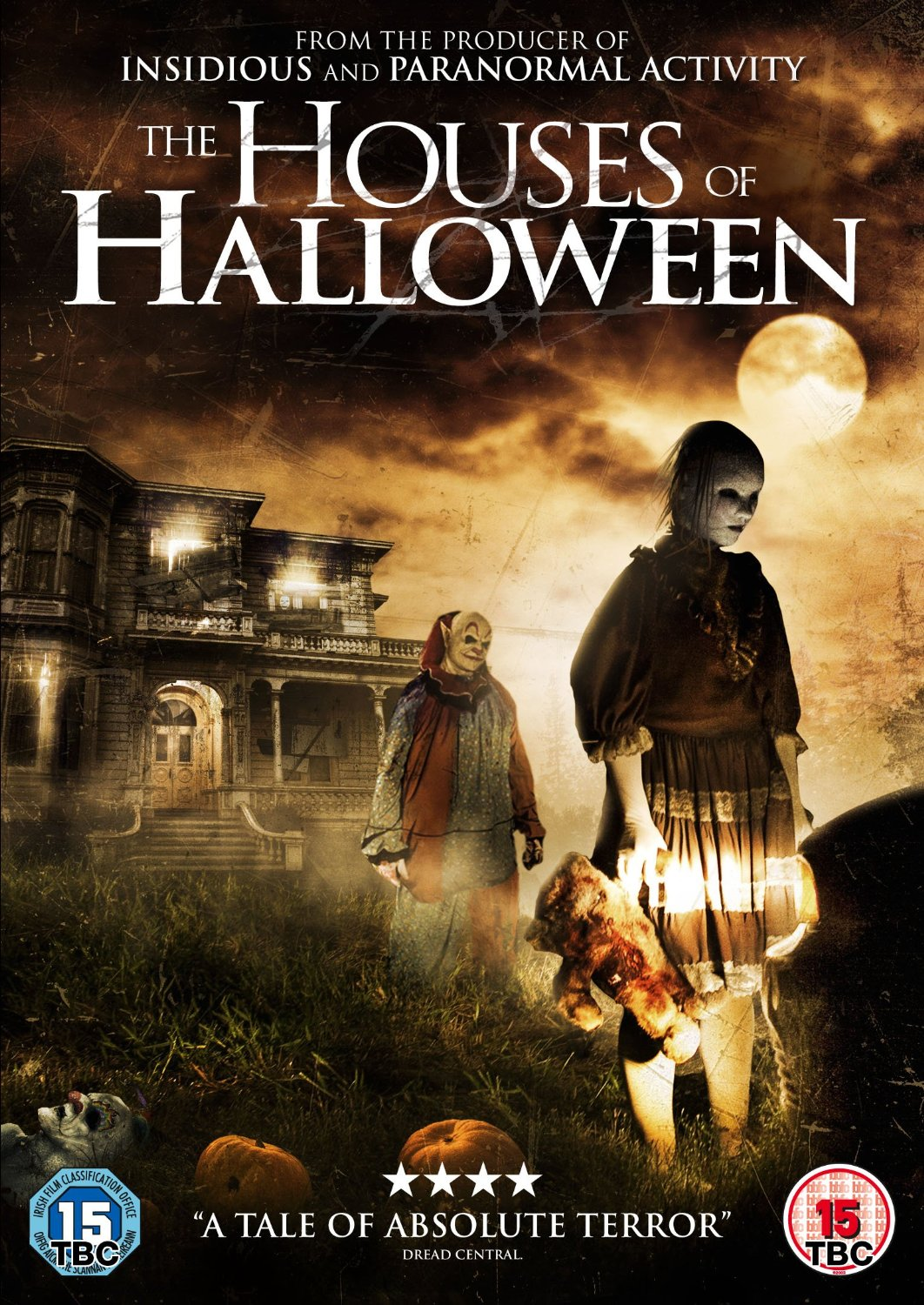Houses of Halloween UK DVD Sleeve