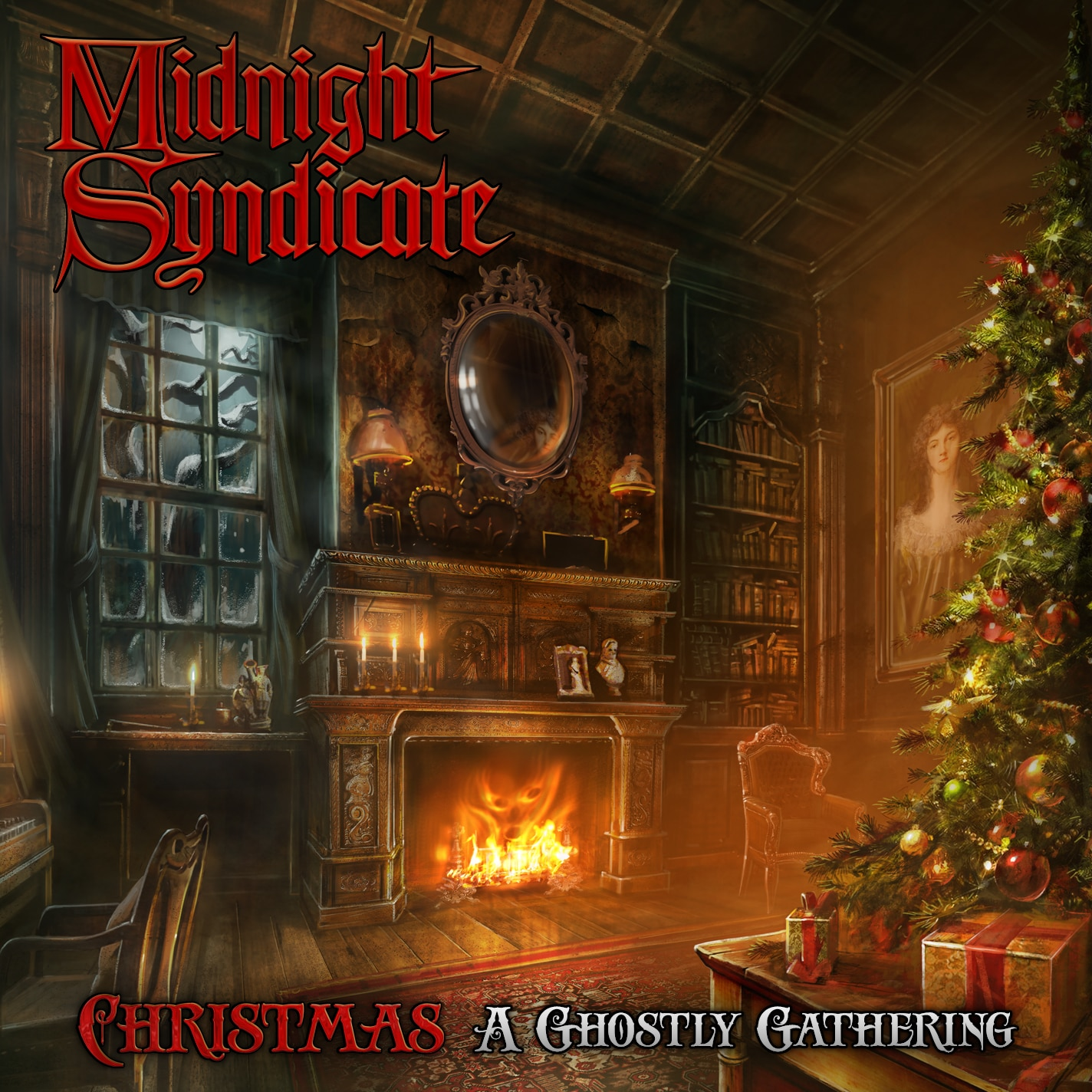 MidSyn Christmas cover - Midnight Syndicate - Christmas: A Ghostly Gathering (CD)