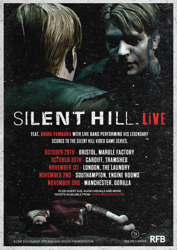 Silent Hill concert - Silent Hill Live Coming to the UK