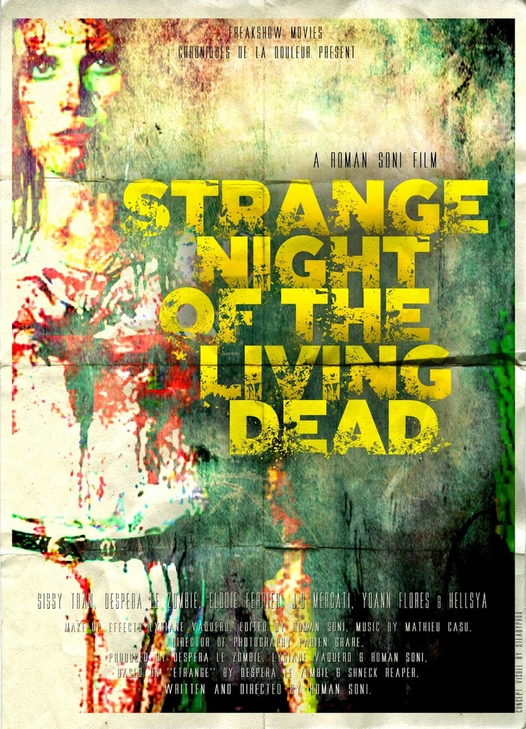 Strange Night of the Living Dead Poster 1