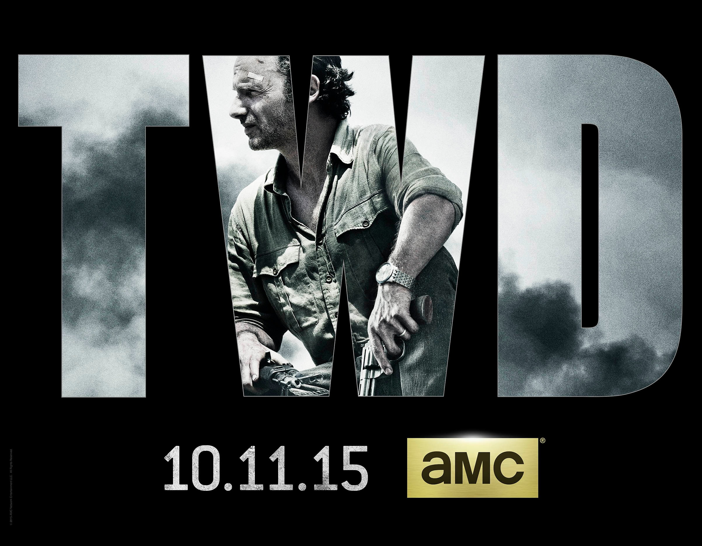 TWD S6 Key Art - The Walking Dead's Rick, Carol, and Michonne Transform in These 'Then and Now' Videos