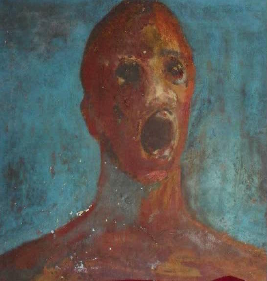 The Anguished Man - The Anguished Man, the World's Most Haunted Painting, Is Not for Sale