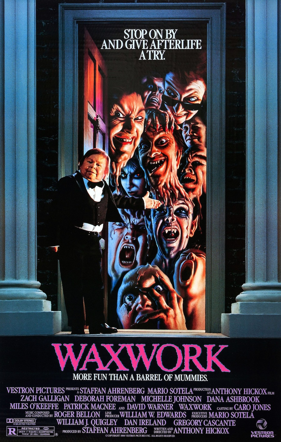 Waxwork Poster - DreadVision Enters The Waxwork In January