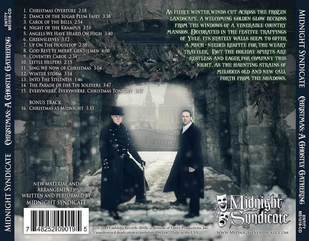 christmas aghostlygathering1 - Midnight Syndicate's Christmas: A Ghostly Gathering Now Available on CD