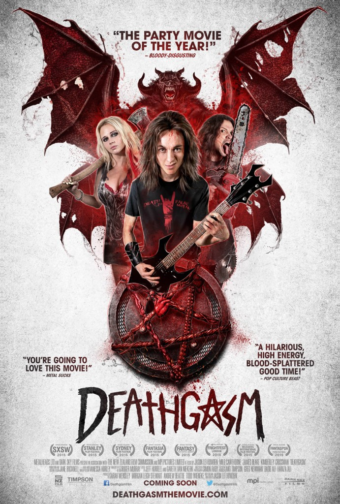 deathgasm theatricalposter 691x1024 - Dread Central and Horrible Imaginings Bring Deathgasm to San Diego in November
