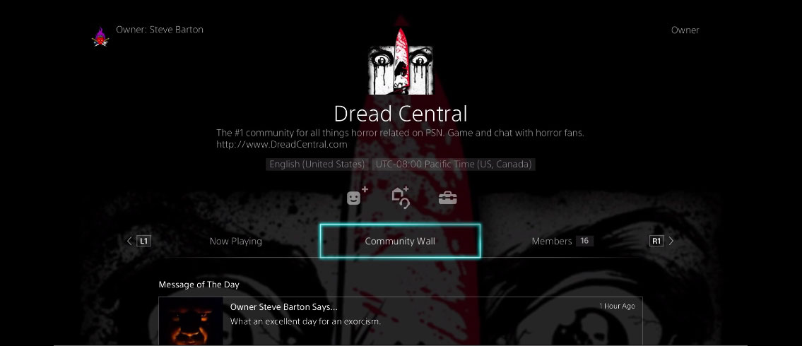 Dread Central PS4