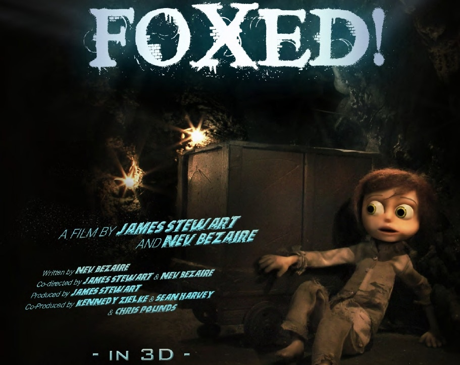 foxed 3d stop motion - Short Film FOXED! Being Adapted by David Cronenberg